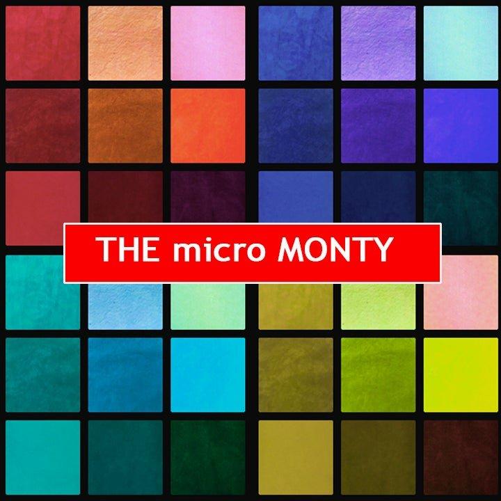 Cherrywood - Micro Monty FQ Bundle