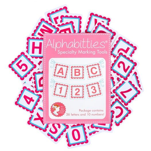 Alphabitties Specialty Marking Tools - Pink
