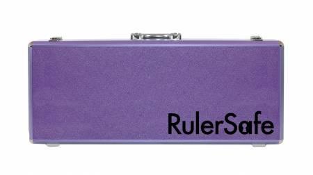 RulerSafe Rectangle Ruler Case - Purple