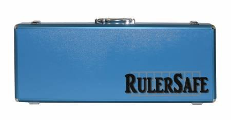 RulerSafe Rectangle Ruler Case - Blue
