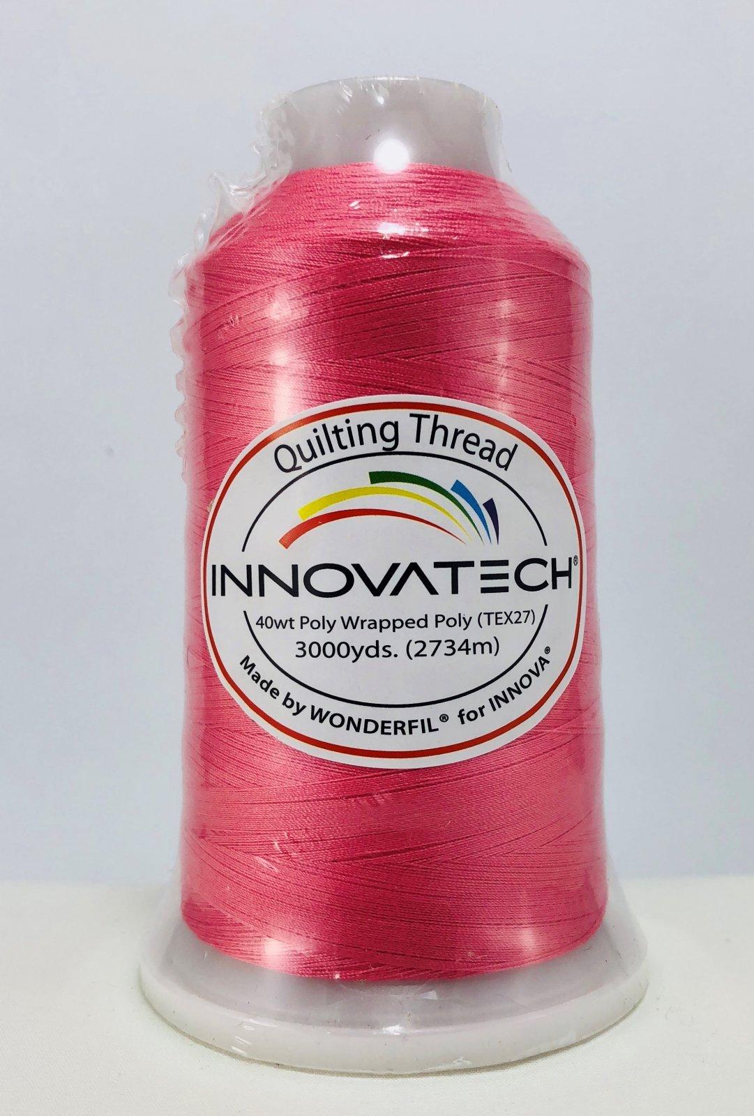 INNOVATECH THD3004 Blush Thread 3000 Yard Cone