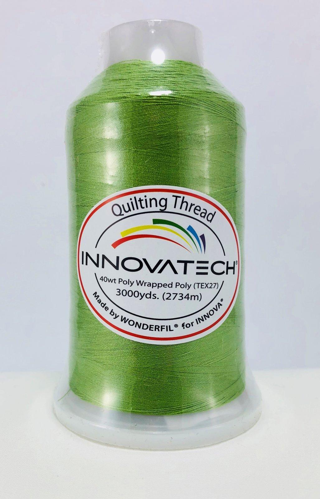 INNOVATECH THD3048 Lime Thread 3000 Yard Cone