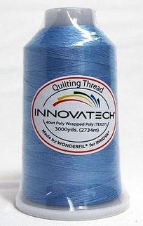 INNOVATECH THD3043 Azure Thread 3000 Yard Cone