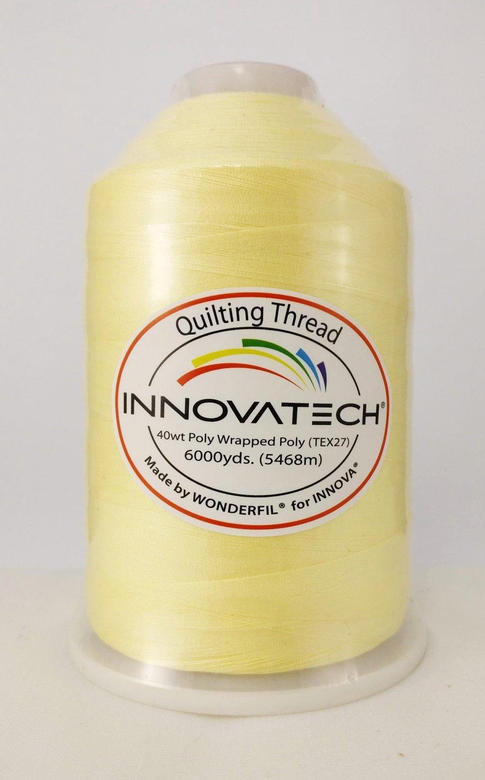 INNOVATECH THD6018 Butter 6,000 Yard Cone Thread