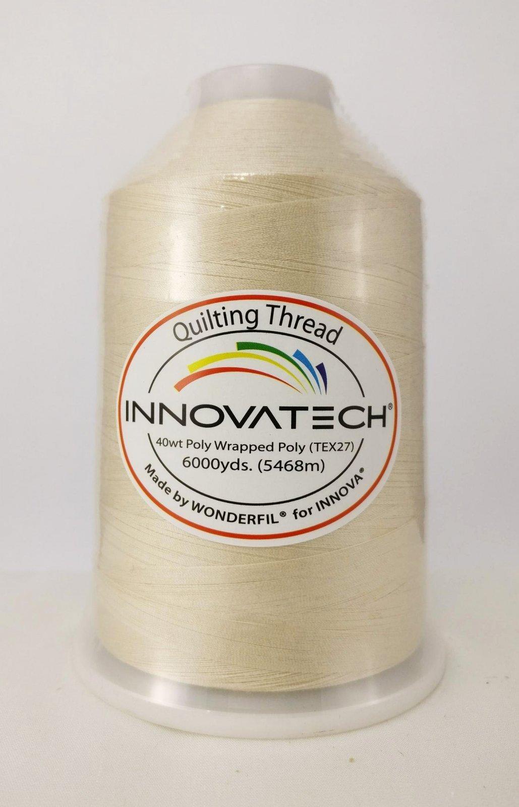 INNOVATECH THD6020 Blonde 6,000 Yard Cone Thread