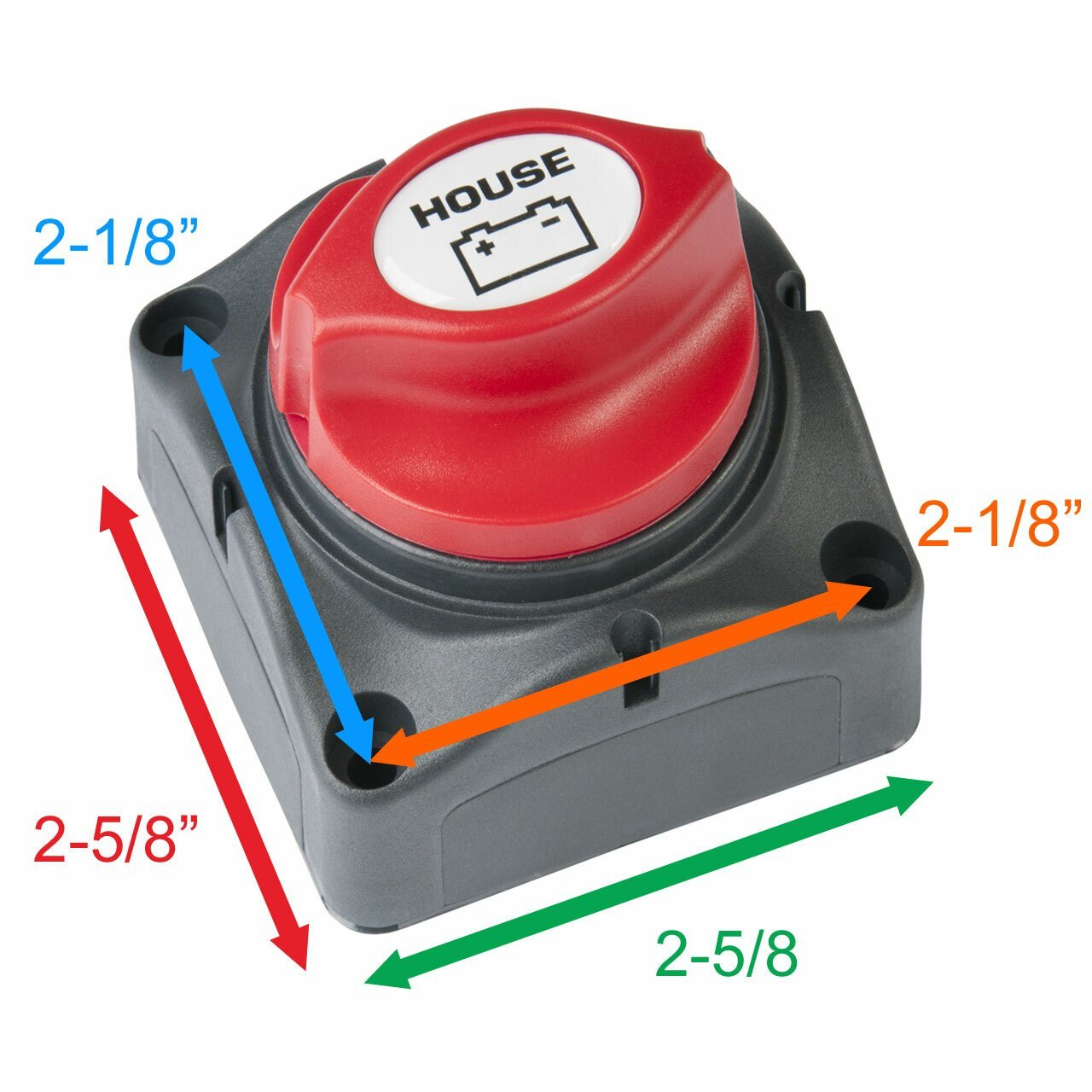 HOUSE BATTERY MASTER SWITCH