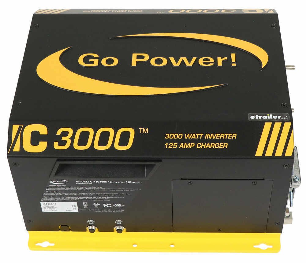 3,000W INVERTER AND TRANSFER SWITCH