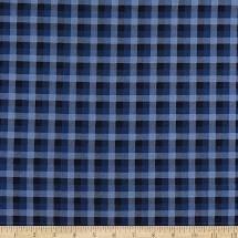 Woodland Plaid Blue