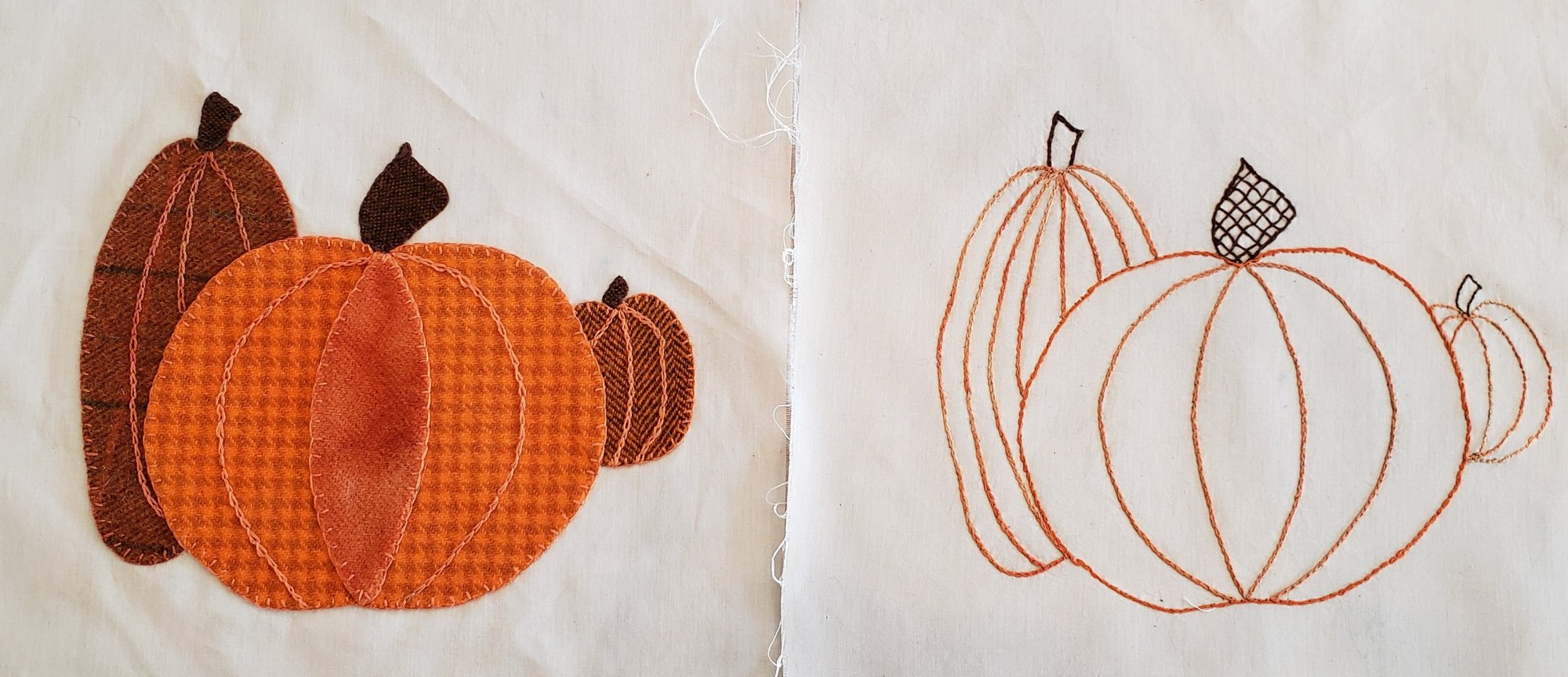Fall Under the Spell Block of the Month Pumpkin Pattern