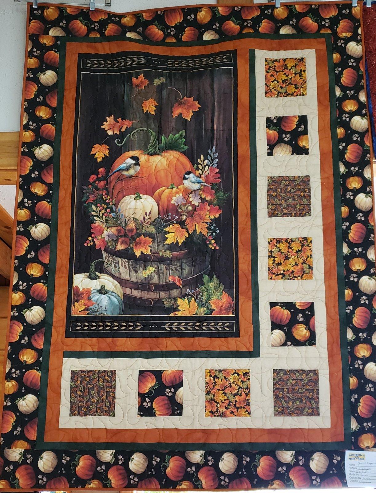 Harvest Elegance Retired Sample