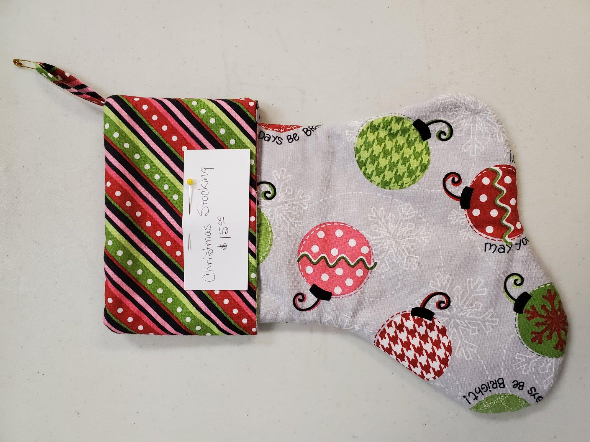 Ornament Christmas Stocking