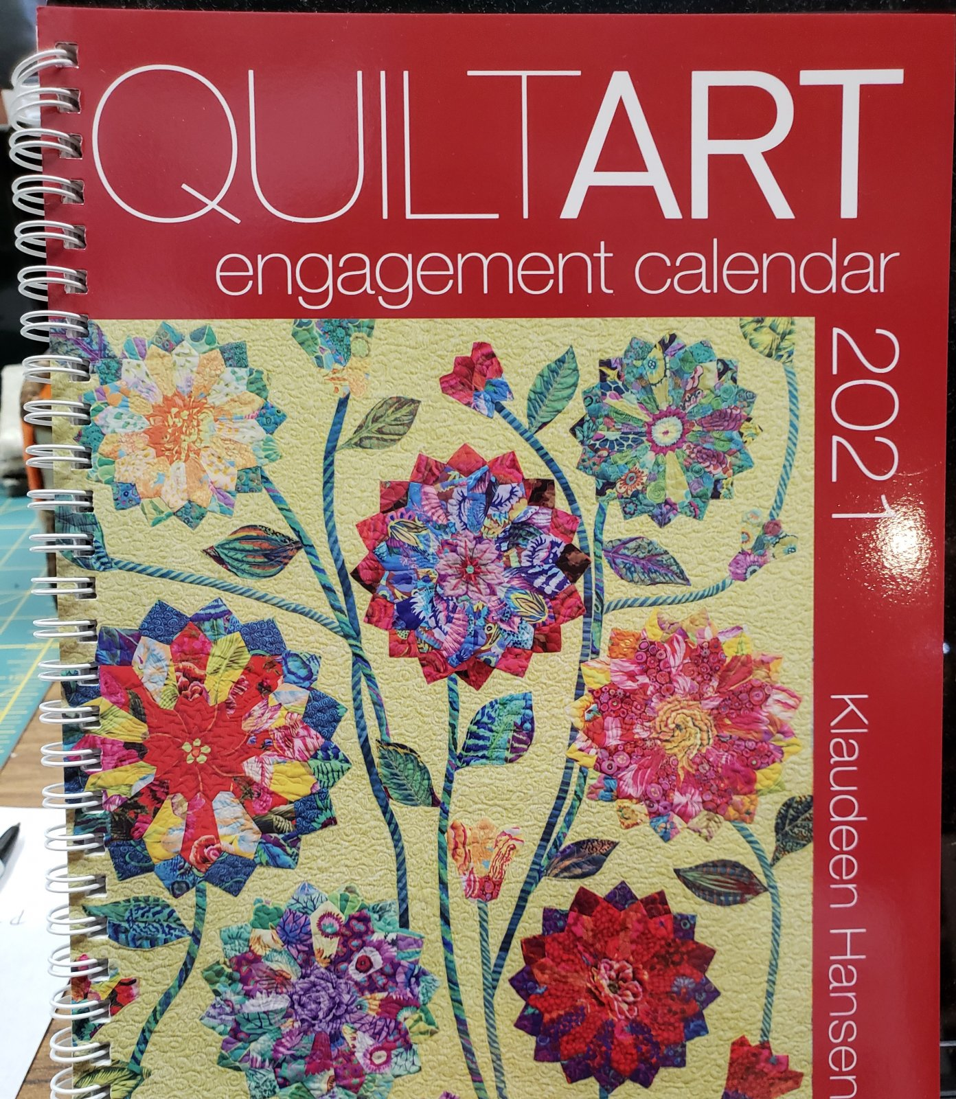 Quilt Art Engagement Calendar 2021