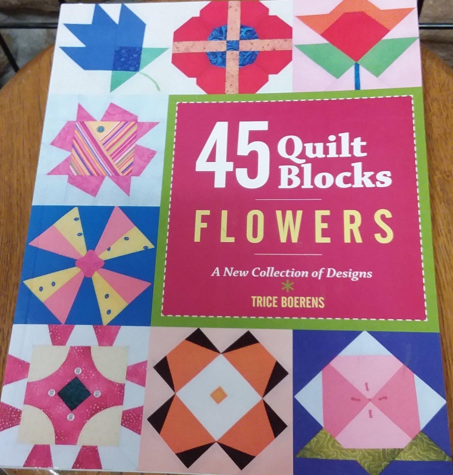 45 QUILT BLKS FLOWERS