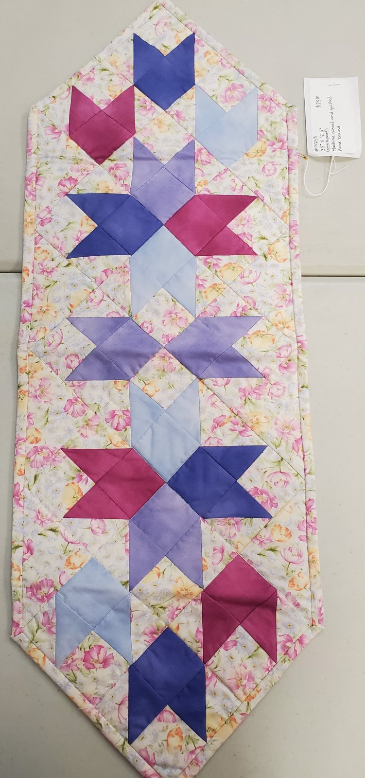 Spring Colors Table Runner