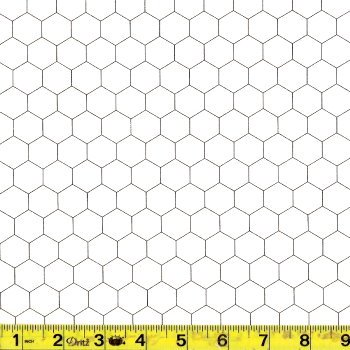 Moda Chicken Wire White - 8255-1
