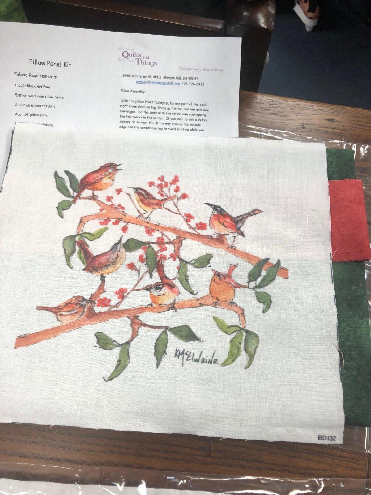 Bird Pillow Kit