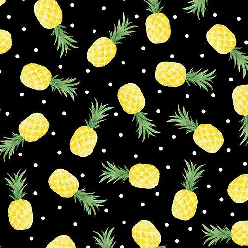 Fun in the Sun - Pineapple Fun - Black 12594 12