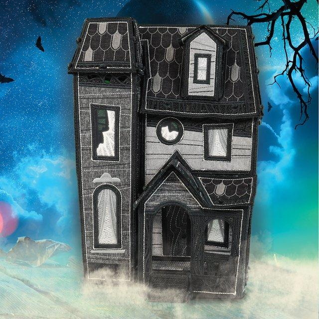Freestanding - Midnight Manor Pattern - USB -12872