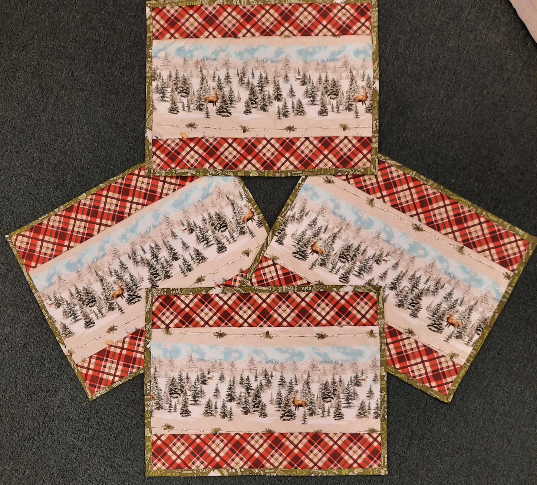 Quilt MN 2021 - Simple Placemats Set of 4 Kit