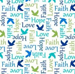 Psalms Inspirational Words White 28254-Z
