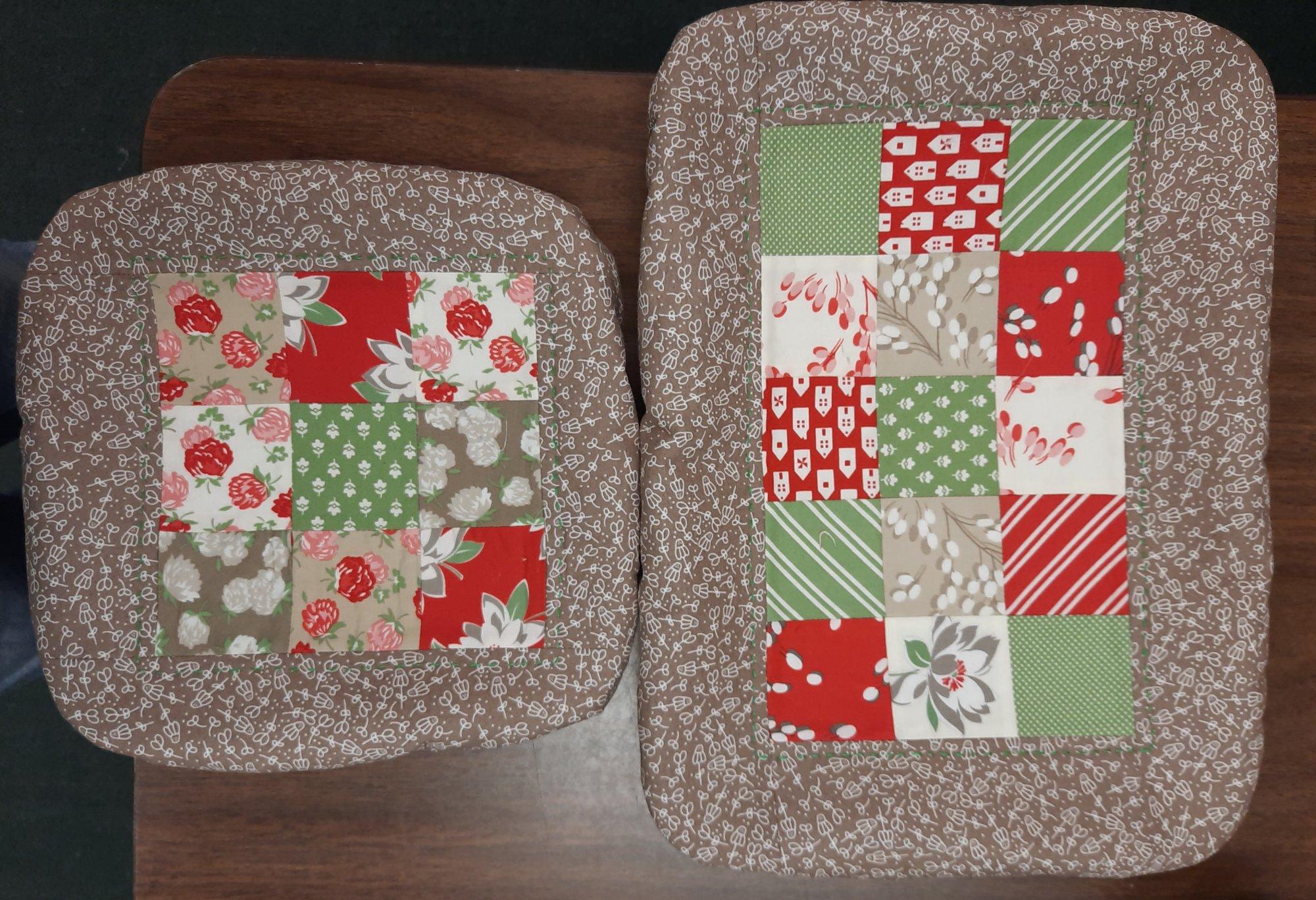 2 Fabric Pan Covers Kit