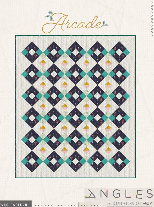 Free Pattern - Arcade - by Art Gallery Fabrics