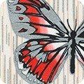 Spring Shimmer Butterfly 19701 1 White