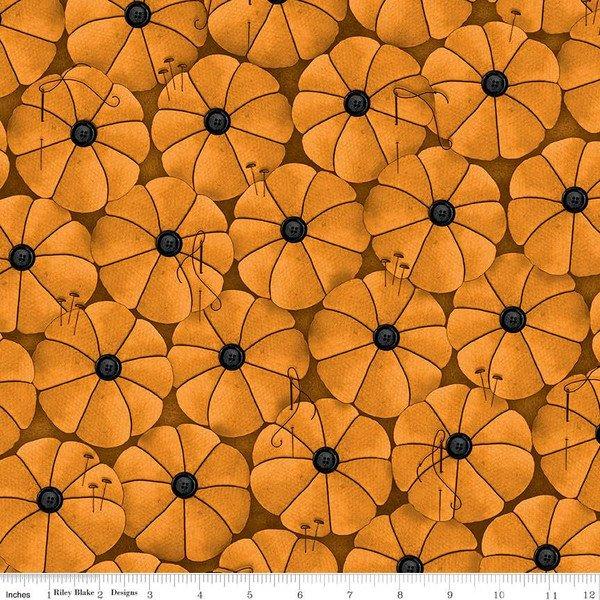 Old Made Pumpkin Pins Orange 10595