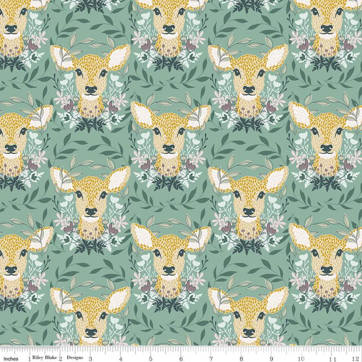 Harmony - Oh Deer - Seafoam 11091