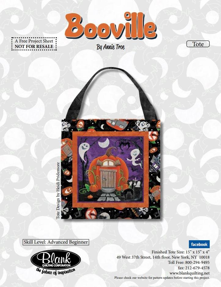 Booville - Free Pattern by Blank Studios