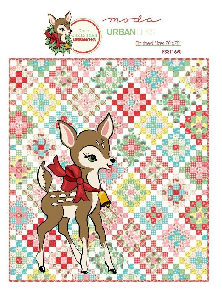 Free Pattern - Deer Christmas by Moda
