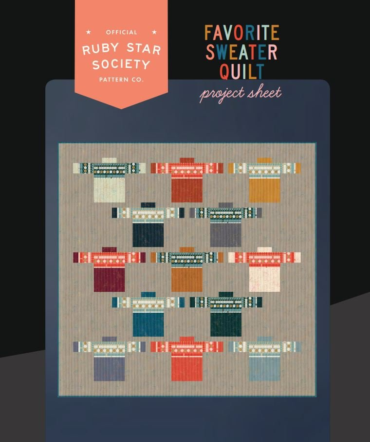 Free Pattern - Favorite Sweater Quilt - by  Ruby Star Society
