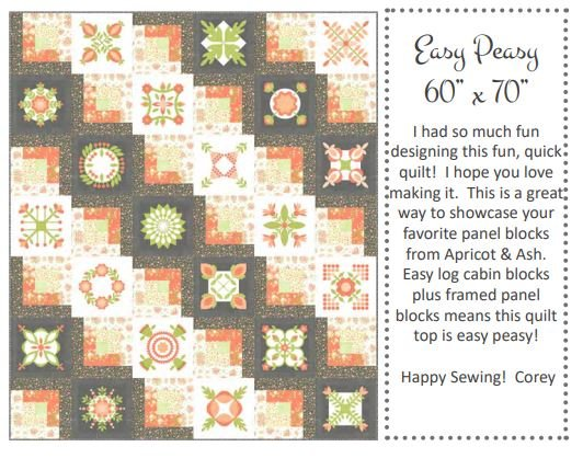Free Pattern - Easy Peasy by Corey Yoder