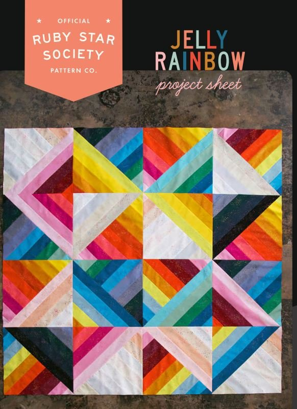 Free Pattern - Jelly Rainbow - by Ruby Star