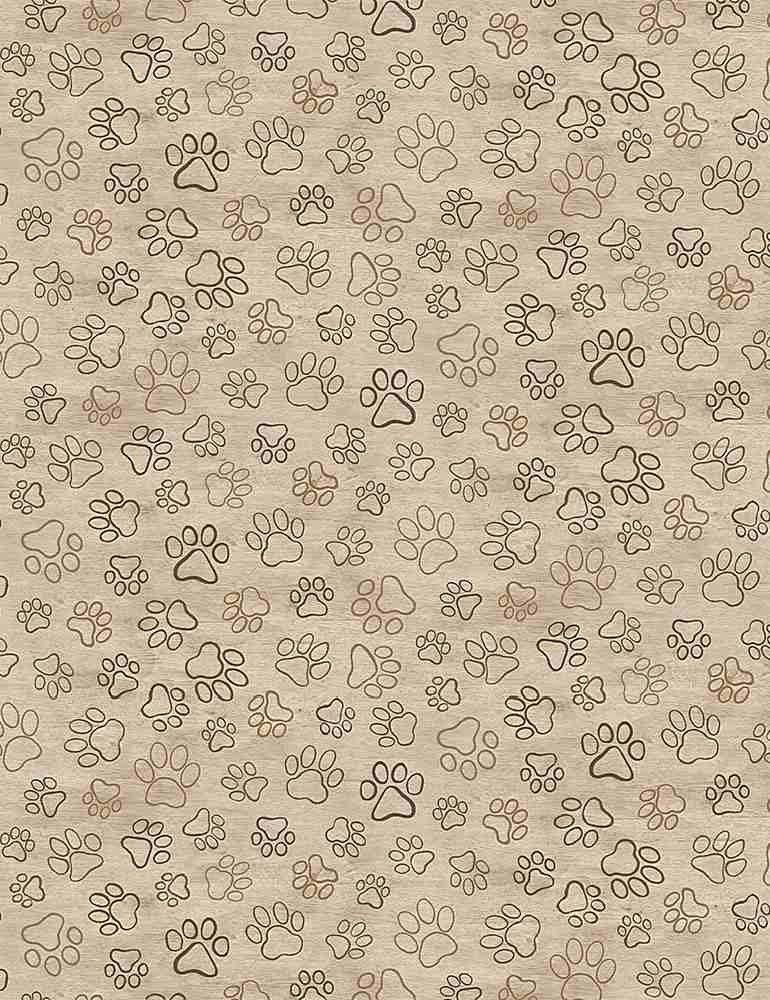 Dog Paws Tan 8556
