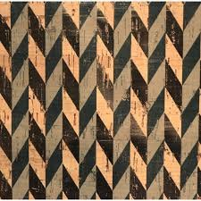 PRO Lite Metallic Chevron Cork Fabric
