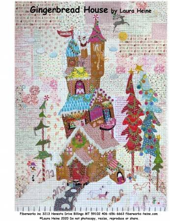 Gingerbread House Collage Pattern