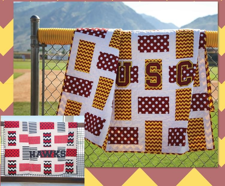 Free Pattern - Game Night Throw Pattern - by Riley Blake