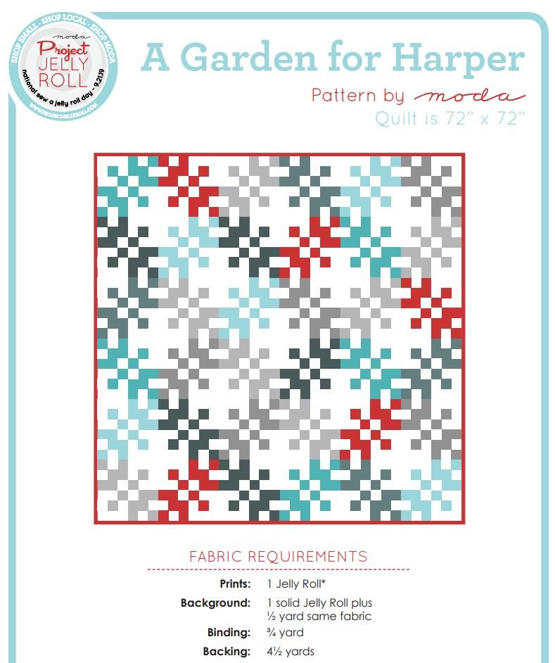 Free Pattern - A Garden for Harper by Moda