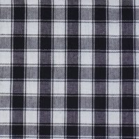 Buffalo Check Tea Towel White/Black