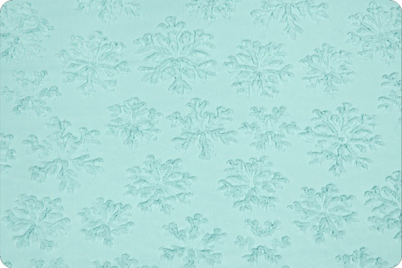 Cuddle - Luxe Snowflake - Saltwater