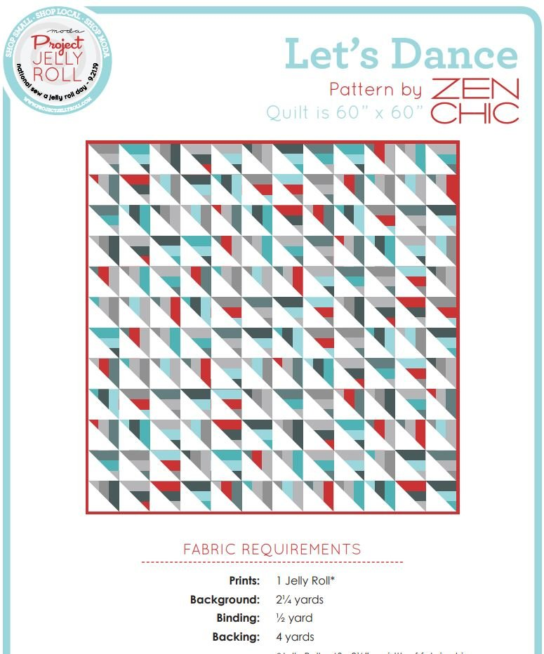 Free Pattern - Let's Dance - by Zen Chic
