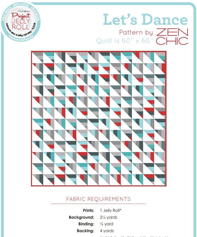Free Pattern - Let's Dance by Zen Chic