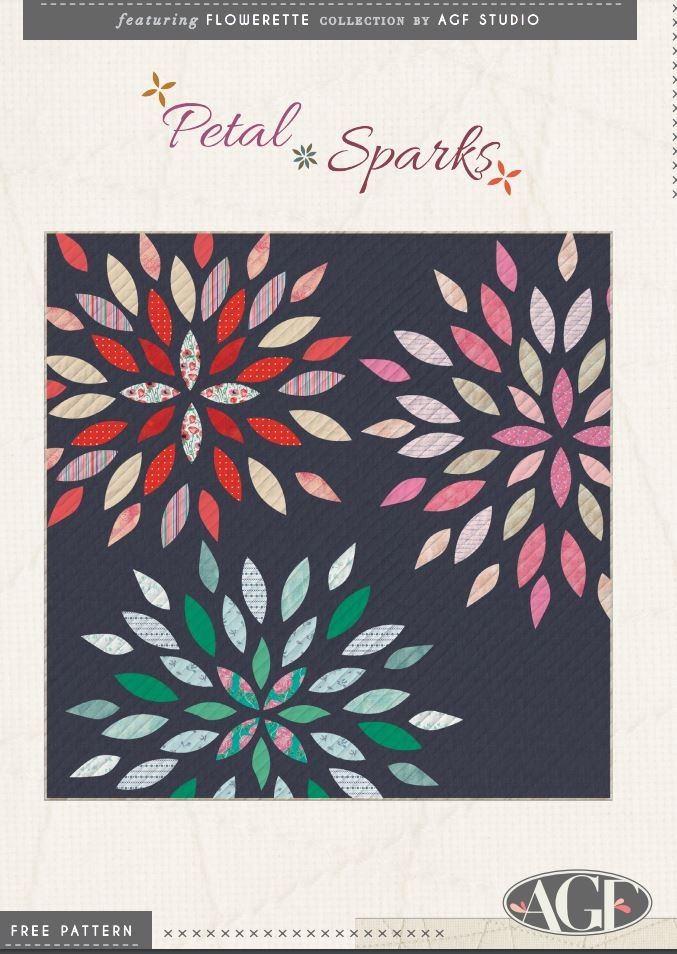 Free Pattern - Petal Sparks - by AGF