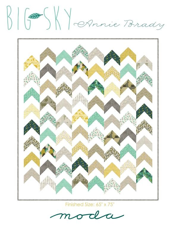 Free Pattern - Big Sky - by Moda Fabrics