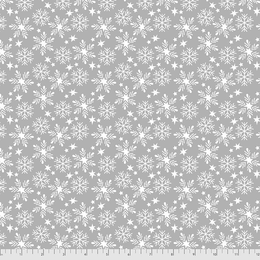 Fa La La - Snowfall - Grey