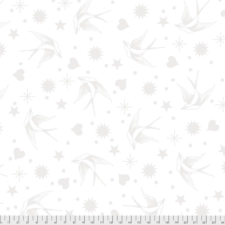 LineWork - Fairy Flakes - White