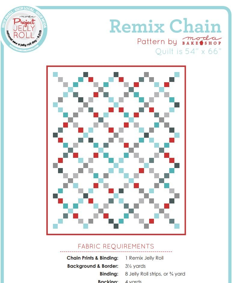 Free Pattern - Remix Chain - by Moda