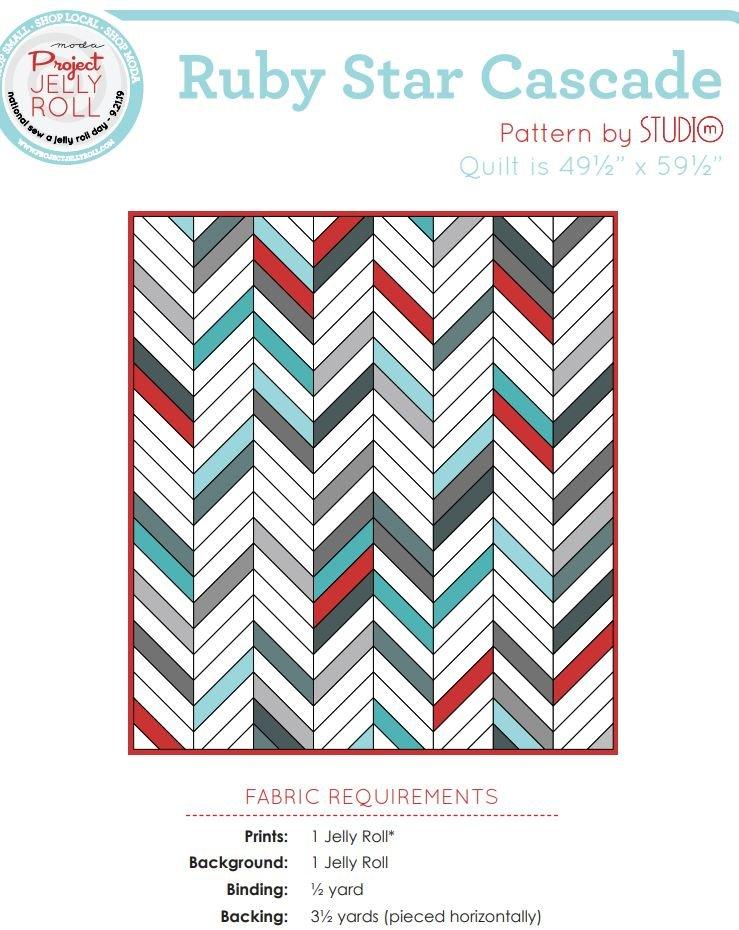Free Pattern - Cascade - Ruby Star Society