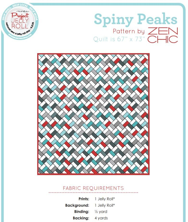Free Pattern - Spiny Peaks by Zen Chic